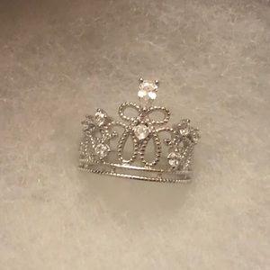 🍄2/$80 Charmed Aroma 925 Princess Ring